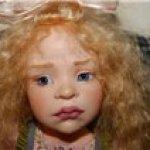 Dale Zentner - OOAK характерная куколка на диванчике