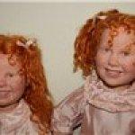 Две рыжие горошинки сестрички  Mirtille Cappucine by Annie Mitrani