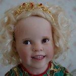 Замечательная детка - маленькая танцовщица Тринити by OOAK Julie Fischer