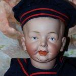 Невероятная редкость немецкий характерный мальчишка от Fritz Bierschenk 54 см