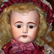 Редчайшая антикварная кукла Laura для итальянского рынка Mayer&Fels, рост 48 см