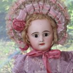 Антикварная французская кукла Premier Bebe von Rabery et Delphieu 3,  64 см