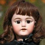 Антикварная кукла для фр. рынка Simon Halbig 1079 DEP 70 cm