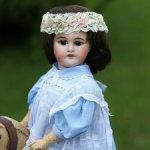 Редкая характерная кукла Gebrüder Kuhnlenz 62.3, 38 cm