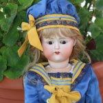 Редкая характерная японская кукла  NIPPON, 53 cm