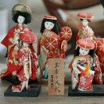 MUSCHELKALKPUPPEN JAPAN, 20 JH., JAPANISCHE KABUKI