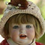 Характерная малышка HERTEL, SCHWAB & CO. 152, 33 cm