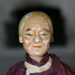 4 Alte Chinesische Puppen 20, 1930. JH 32-16 cm