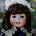 Характерная немочка Heubach Köppelsdorf 300 Puppe 58 cm