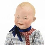 Редчайший характерный мальчик  Gebrüder Heubach 7746, 35 cm