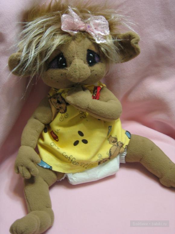 Мои малыши троллики. Текстильная авторская кукла Оксаны Кошелевой