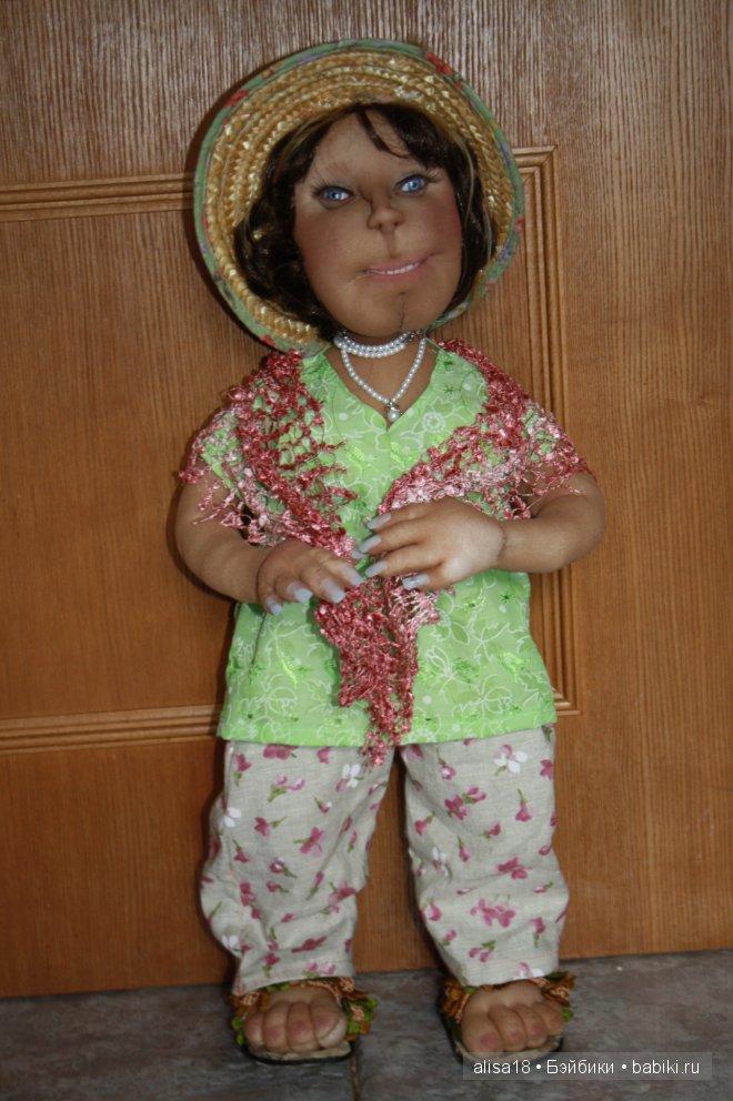 Шаржево-портретные куклы. Авторские куклы Оксаны Кошелевой