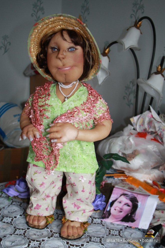 куклу забрали сегодня утром.не успела ее хорошо сфотографировать(