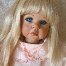 Фарфоровая кукла Крестен  от Lucu Daale