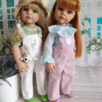 Два нарядных комплекта на кукол Готц