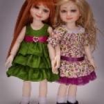 Новая коллекция 2011 bjd куколок от Berdine Creedy. Рыжик Brianna и ее подружки
