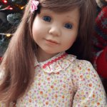 Редкая девочка Шарлотта от Schildkrot-Puppen!!!СКИДКА-14500руб.-с пересылкой!!!