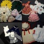 Лоты одежды на разных кукол(винтаж,толстушки,СД,Паола Рейна)