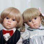 Очень редкие детки Hildegard Gunzel парой.