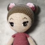 Очень милая кукла ручной работы.