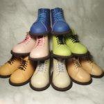 Ботиночки для кукол Цвергназе 50 см из натуральной кожи.