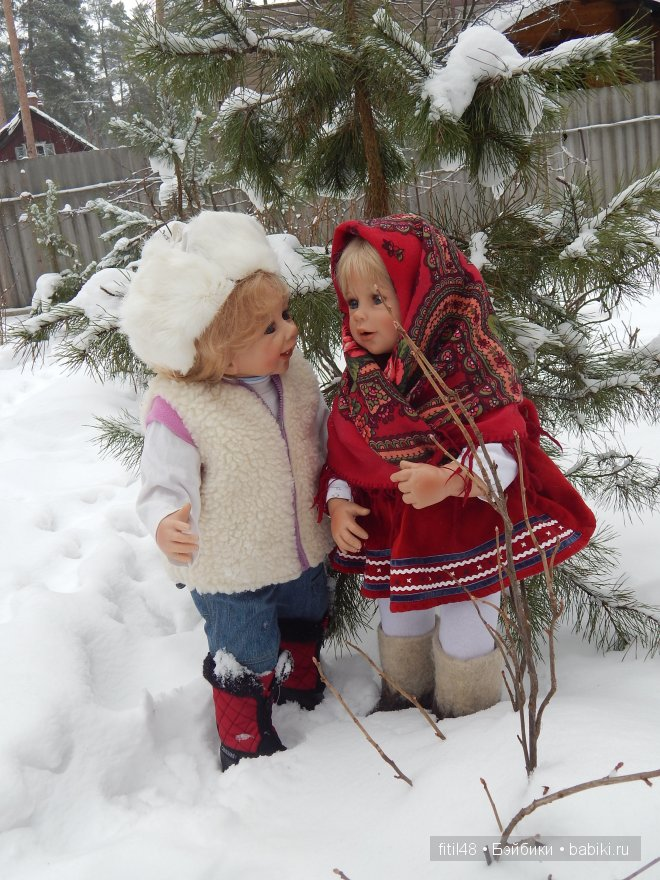 Девочка в валенках картинки
