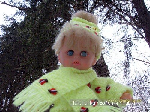 Маргоша, прогулка в лесу