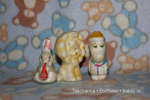 винтажные игрушки