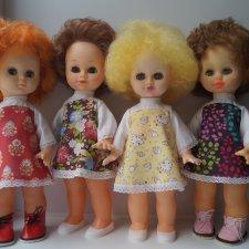 Выкройка платьица Горьковской Юли. Подходит очень многим куколкам