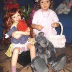 И вот они подарочки на день рождения себе любимой! Куколки от Бредбери и Герлинды Стельзер
