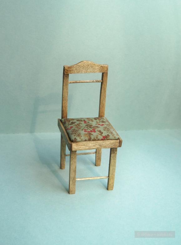 стульчик для куклы, Елена Акимова