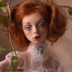 Эльза - авторская шарнирная кукла Елены Акимовой
