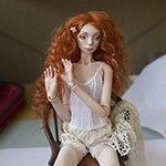 Алиса, авторская фарфоровая кукла Елены Акимовой