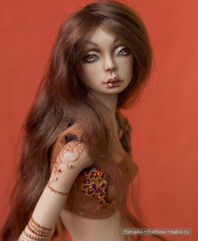 Анаис, шарнирная кукла Елены акимовой