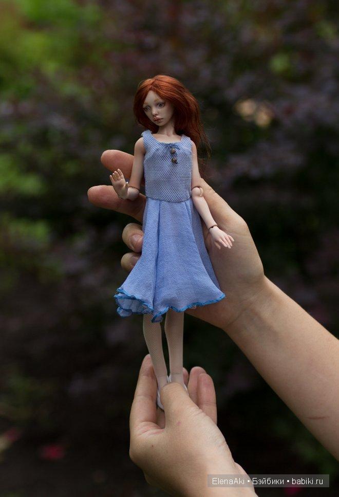 Лолита, шарнирная кукла Елены Акимовой