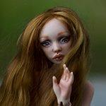 Лолита. Авторская фарфоровая кукла Акимовой Елены