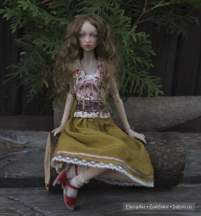 шарнирная кукла Елены Акимовой bjd