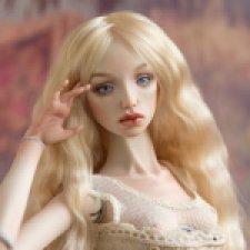 Аделина, фарфоровая шарнирная кукла Елены Акимовой