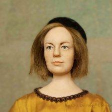 Коломбина. Новая портретная кукл