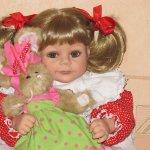 Моя кукла Фиона от Phylis Parkins
