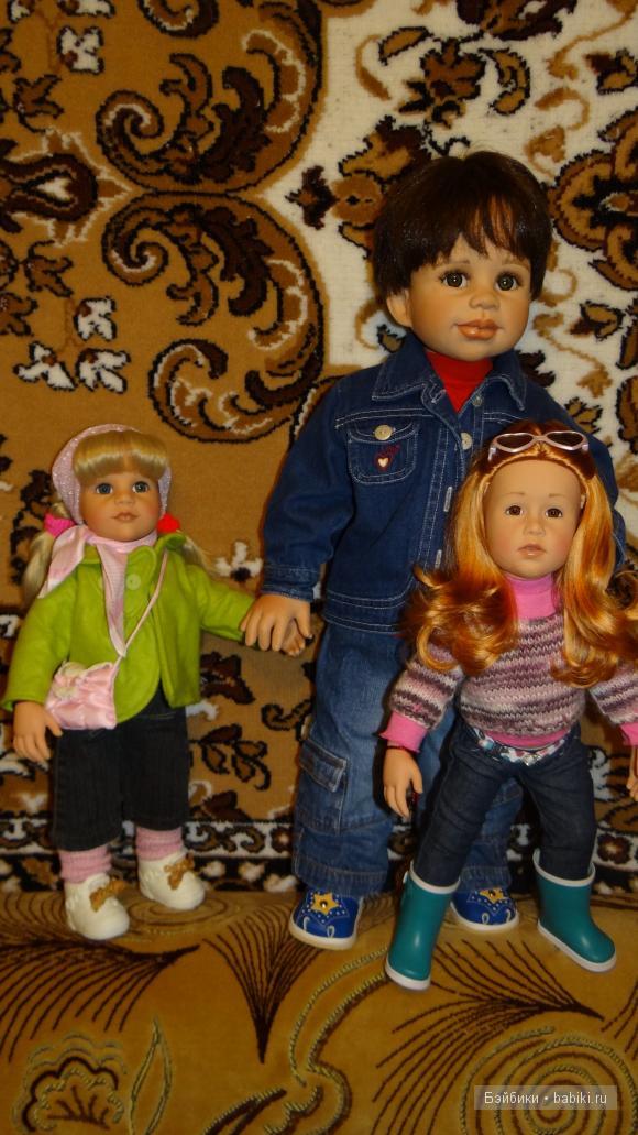 Данька - копия Саньки. Раскаль - коллекционная кукла от Моники Левениг