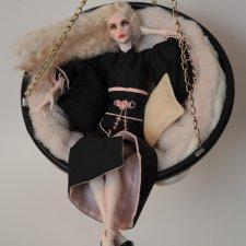 Продам подвесное кресло для авторских кукол до 45 см