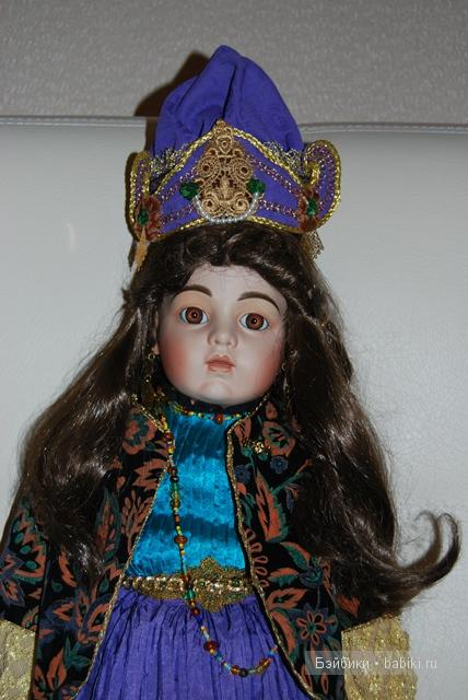 Фарфоровая кукла Эсмеральда - очень загадочная кукла тиражная реплика