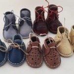 Кожаная обувь для  паолок Paola Reina