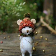 Очаровательные валяные игрушки от Little Wool Tails
