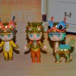 Popmart Molly Court Auspicious Beast Series (драконы).