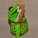 Лягушки VAG MEDICOMTOY series 19 Sukaruchura Chibi moray eels frog