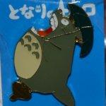 Броши с Тоторо из мультфильма «Мой сосед Тоторо», Studio Ghibli.