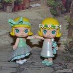 Popmart Satyr Rory Свадебная цветочная серия.