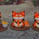 Лисички Yipin Sesame Fox